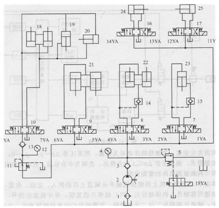 单项压力表接线图