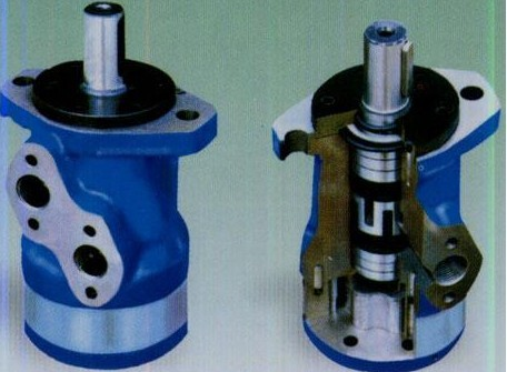 BMR型轴向配油摆线液压马达