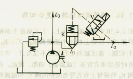 液压马达之插装阀液压系统回路