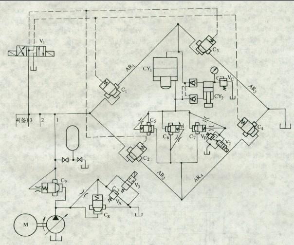 钢坯剪切机电路图
