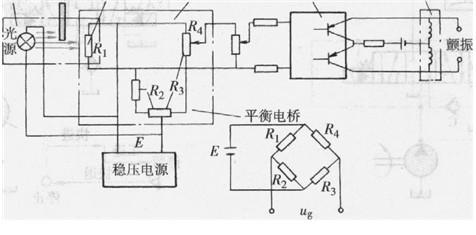 光电检测器钢带光敏二极管平衡电桥