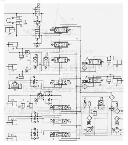 设计钳夹机械手电路实物图