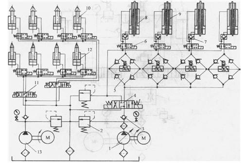 pwm控制液压电路图